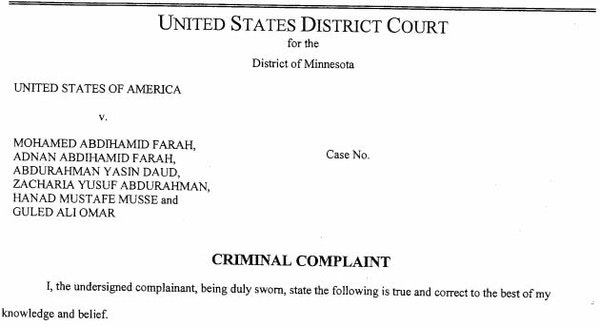 Read the criminal complaint against 6 Minnesota men