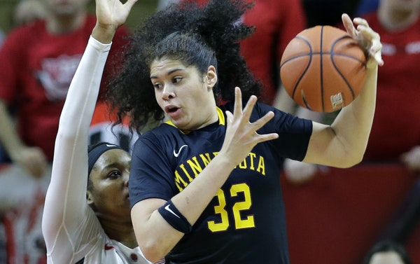 Gophers sophomore center Amanda Zahui B. transformed her body and her game to become the Big Ten Player of the Year.