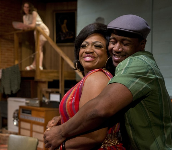 """Jamecia Bennett and Darius Dotch in Penumbra's """"Detroit '67,"""" part of a trilogy that hopes to do for the Motor City what August Wilson did for"""