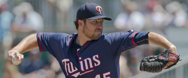 Phil Hughes made his final spring appearance Wednesday.