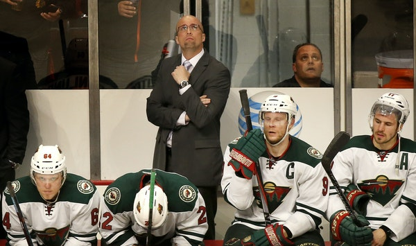 Wild coach Mike Yeo focused on his team's mental approach a day after the disappointing Game 2 loss at Chicago.