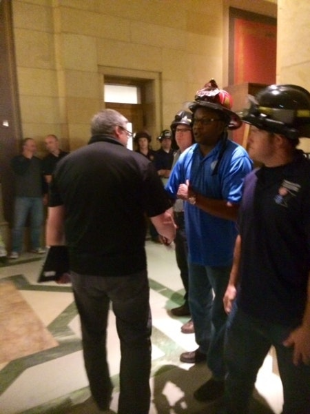 Firefighters decry 'slow death' of flame retardant bill
