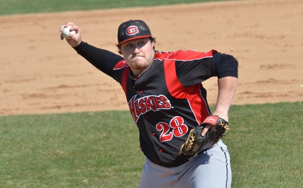 Reese Gregory, St. Cloud State baseball.