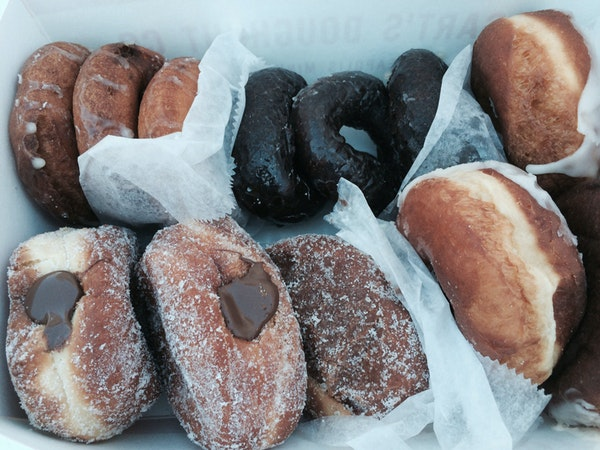 Doughnuts from Bogart's.
