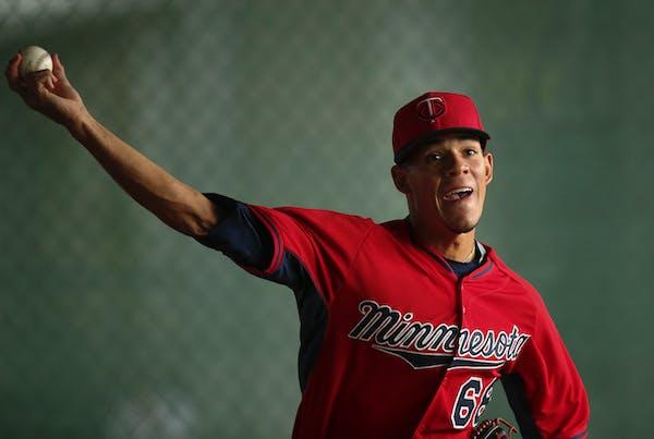 Twins pitching prospect Jose Berrios