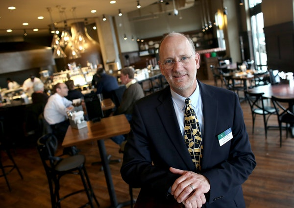 Tres Lund, of Lunds & Byerly's, at the Lunds & Byerly's Kitchen in Wayzata in 2014.