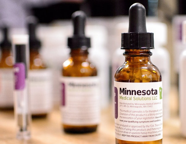 Samples that show what the final Minnesota Medical Solutions medicinal cannabis will look like.