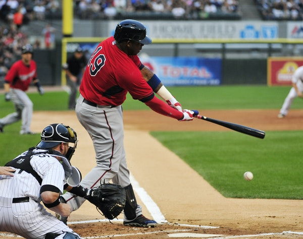 The Twins sent Kennys Vargas to the minors after Sunday's loss. He has 30 strikeouts and a .297 on-base percentage in 111 plate appearances this seaso