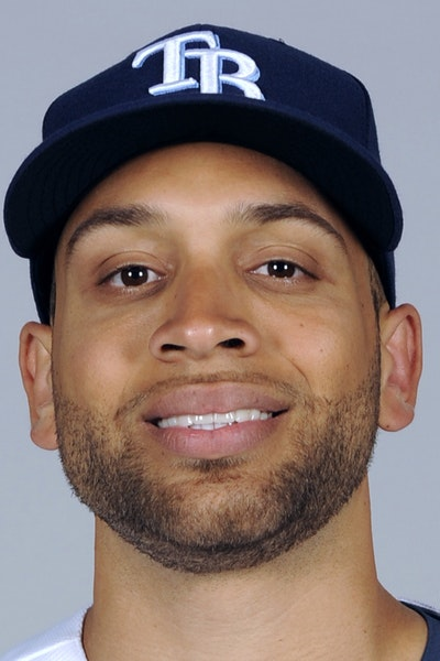 PORT CHARLOTTE, FL - FEBRUARY 27: James Loney #21 of the Tampa Bay Rays poses during Photo Day on Friday, February 27, 2015 at Charlotte Sports Park i