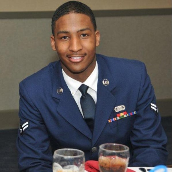 Marcell Willis. Willis, 21, was active duty Air Force, assigned to the Grand Forks Air Force base. An airman from the Grand Forks Air Force Base enter