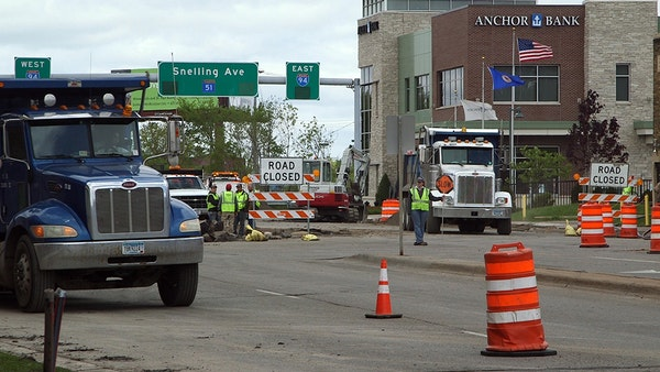 Drivers still getting used to Snelling Avenue closure