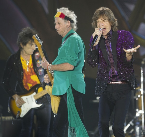 The Rolling Stones perform Wednesday at TCF Bank Stadium.