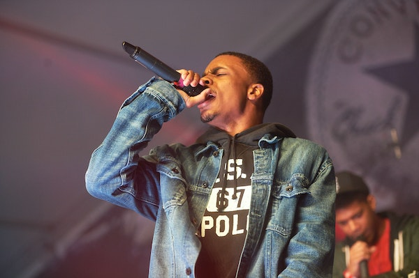 Vince Staples performed at the Fader Fort in Austin, Texas, during the 2015 South by Southwest music festival.