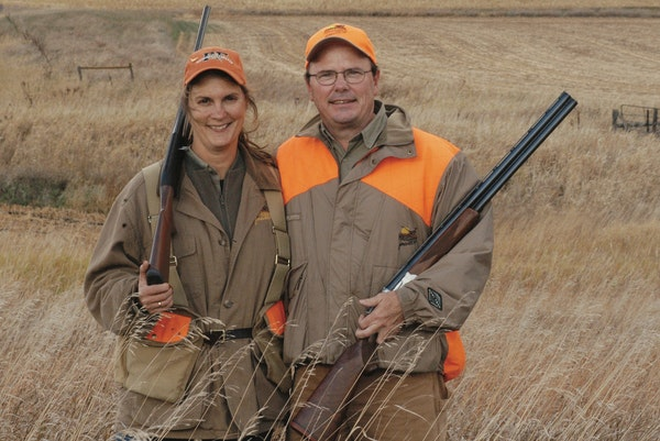"""Pheasants Forever VP Joe Duggan is stepping down to spend more time with his wife, Colleen, but said, """"I'm not going away."""""""