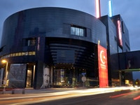 The riverfront Guthrie Theater is a signature Dowling achievement.