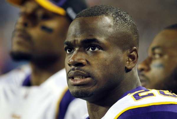 At $12.75 million, the Vikings' Adrian Peterson would be the NFL's highest-paid running back again this season.