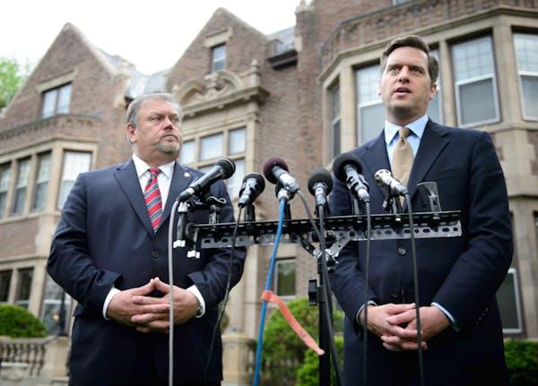 Senate Majority Leader Tom Bakk and House Speaker Kurt Daudt announced a budget agreement a week ago.