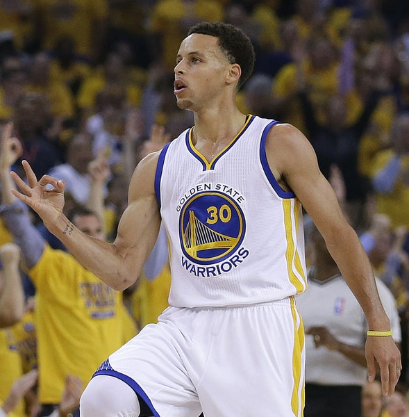 Golden State's Stephen Curry is shooting 42.5 percent (57-for-134) from three-point range this postseason.