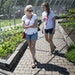 Lisa Bonko and her daughter, Sammie, of St. Paul, enjoyed a visit to the newly opened Edible Garden at St. Paul's Como Zoo and Conservatory on Frida