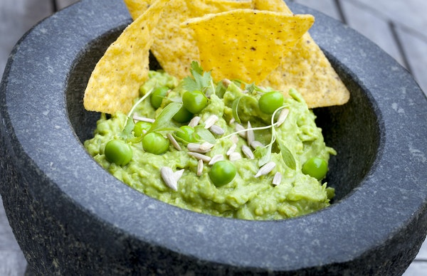 Even the president has an opinion about having peas in guacamole.