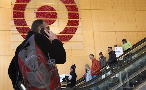 Layoffs began at Target's headquarters in February, with 550 jobs cut because of the closing of Target Canada. After recent layoffs, about 2,500 hea