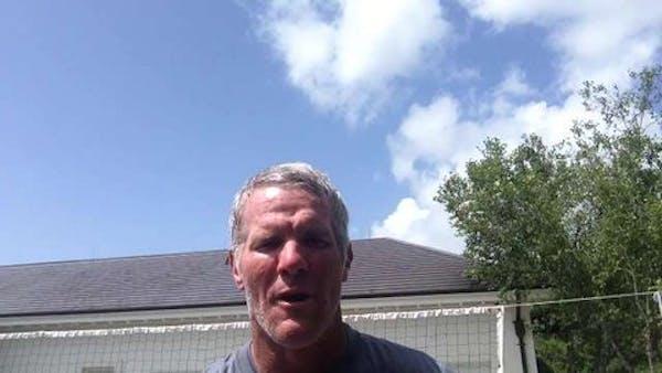Brett Favre makes video to say #votedozier for All-Star Game