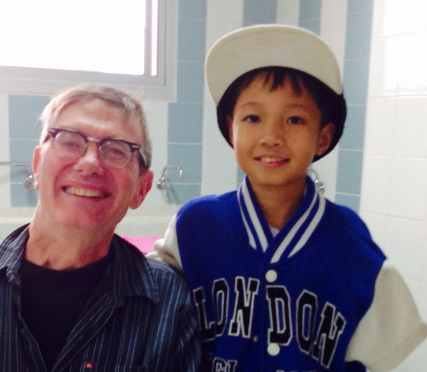 Kevin Kling befriended Future during a previous Interact visit to Thailand.