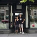 Cassie Garner of Gamut Gallery and James Patrick of Slam Academy share a store front at the Marquette Avenue building that will soon be demolished.