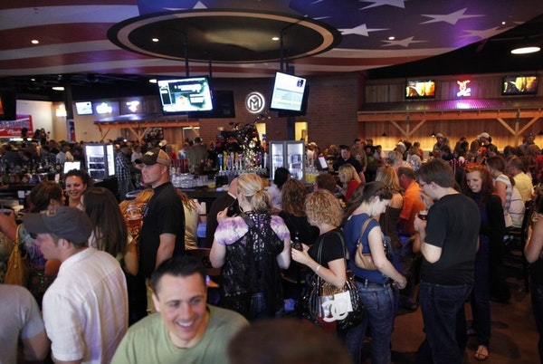 """The scene at Toby Keith's I Love This Bar And Grill"""" in St. Louis Park in 2010."""