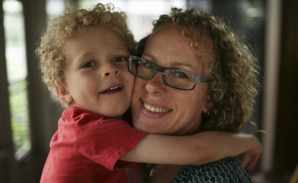 Heidi Klukas plans to buy a house in a new neighborhood so her son, William, 5, can get autism services..