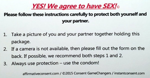 Consent contract distributed nationally by Affirmative Consent Project.