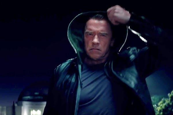 "Arnold Schwarzenegger stars in ""Terminator Genisys."""