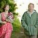 "Gemma Arterton and Fabrice Luchini in ""Gemma Bovery."""