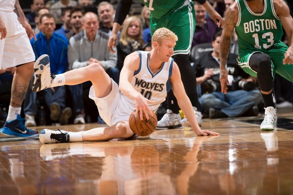 Chase Budinger averaged 6.8 points and 19.2 minutes per game in 67 contests last season, a personal best during his three-year stint with the Timberwo