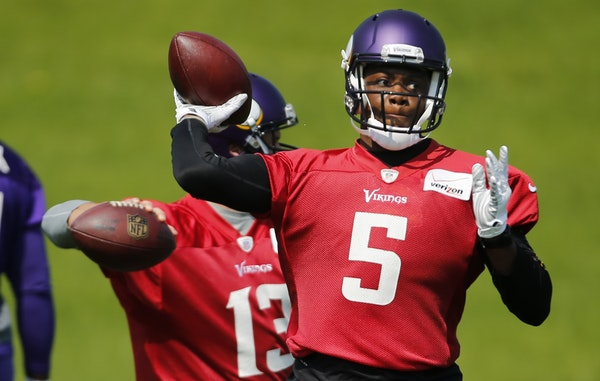 The Vikings know Teddy Bridgewater will be their starting quarterback. His back-ups, however, remain uncertain.
