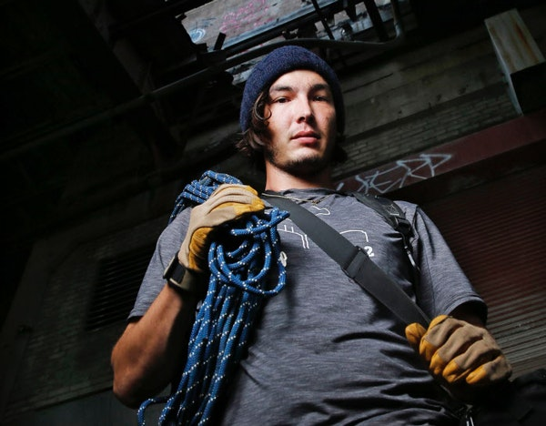 Jake Freese is an urban explorer who posts his adventures on social media.