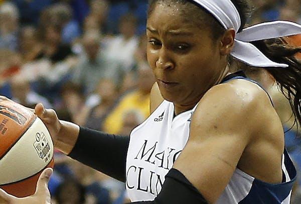 Lynx forward Maya Moore is averaging 18.8 points.