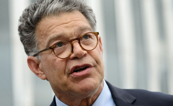 Sen. Al Franken, shown at the University of Minnesota, wants two federal agencies to investigate whether Apple Inc. is breaking antitrust law in how i