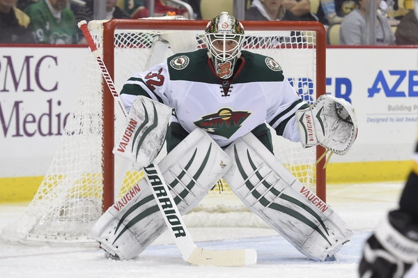 Wild goalie Niklas Backstrom told a Finnish TV station that the nerve damage to his right elbow caused him to be unable to use his right hand while dr