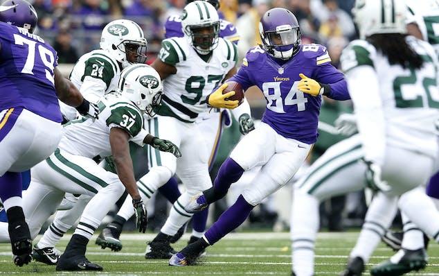 Vikings receiver Cordarrelle Patterson.