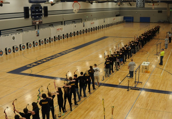 The popularity of competitive archery has grown quickly enough that the state tournament will move to a larger venue at Bemidji State University in 20