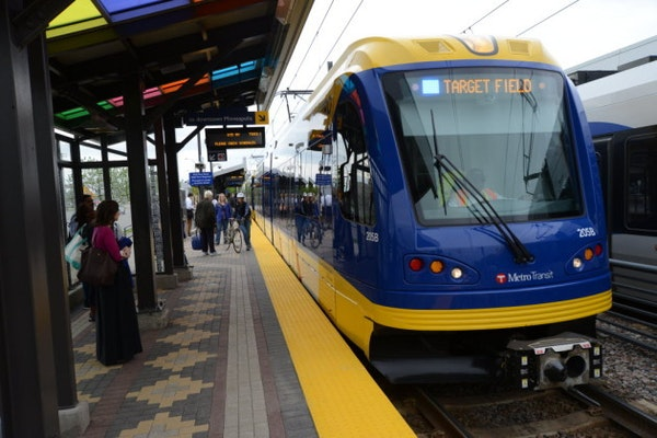 Big gains were experienced on the Blue Line where ridership has rebounded after a down year in 2014.