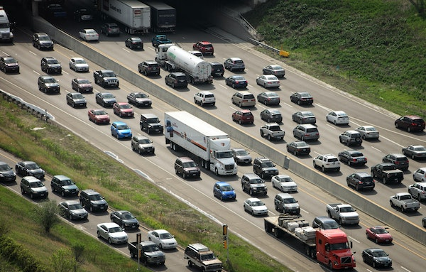 Road construction work is leaving many Twin Cities commuters stuck in traffic this summer.