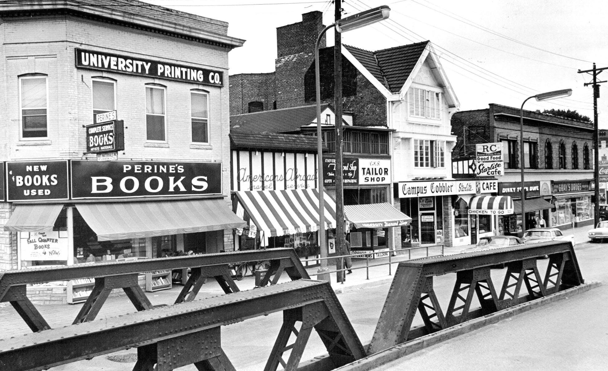 The view down 14th Avenue SE in 1963.