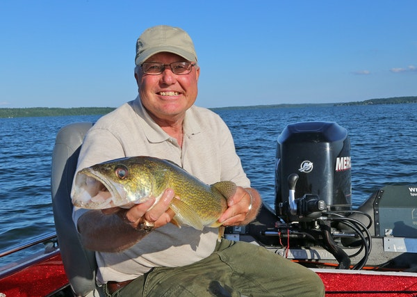 Steve Fellegy grew up on Lake Mille Lacs and guided at his parents' resort, starting when he was a kid. Now, because of the downturn of Mille Lacs�