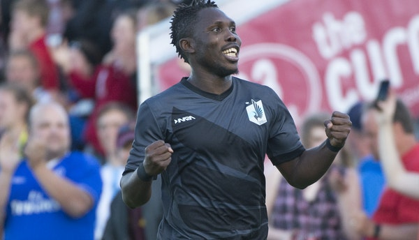 United FC midfielder Kalif Alhassan has helped fill the offensive void left by the departure of Miguel Ibarra. He has been effective playing in Ibarra