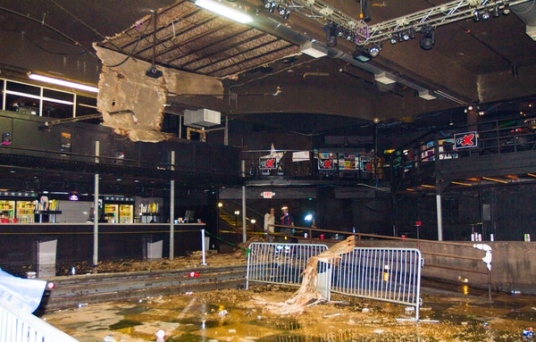 There is still no word on when First Avenue will reopen after part of the ceiling collapsed Wednesday night during a concert.