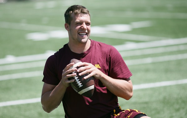 Gophers quarterback Mitch Leidner wants to complete more than 51.5 percent of his passes, his success rate last season.