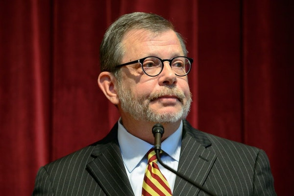 University of Minnesota president Eric Kaler announced the resignation of athletic director Norwood Teague on Aug. 8.