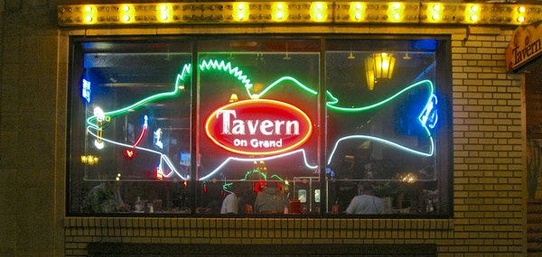 St. Paul's Tavern on Grand proclaims that it sells more walleye than any U.S. restaurant.